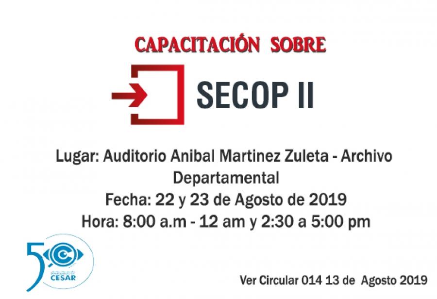 Capacitación SECOP II