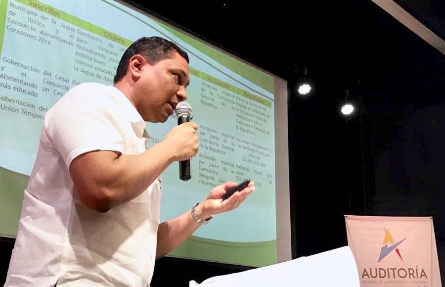 La Contraloria General del Departamento del Cesar dio el conocer en cumplimiento y los resultados obtenidos dentro del acuerdo de vigilancia y control por la transparencia
