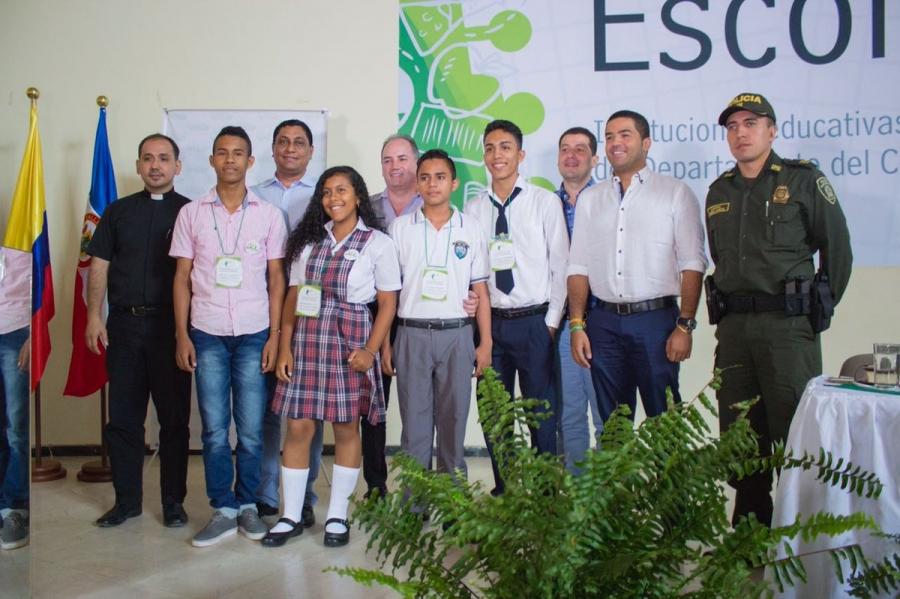 Contraloría del Cesar posesionó a 180 contralores estudiantiles para un mayor control social en las instituciones