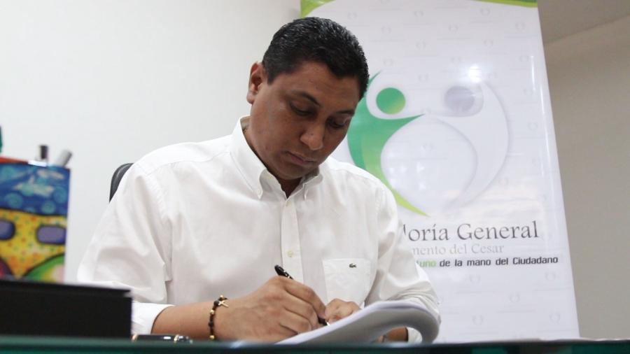 Convenio permitirá que Contraloría General del Cesar consulte la base de datos del RUNT para verificar bienes de presuntos responsables fiscales