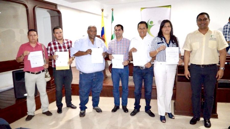 Contraloría General del Departamento del Cesar entregó recursos detectados en pagos y embargos a implicados en procesos de responsabilidad fiscal